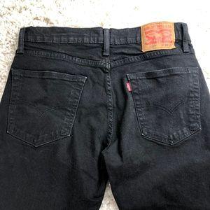 Levi's Jeans - Levi's 502, black straight leg 33x32